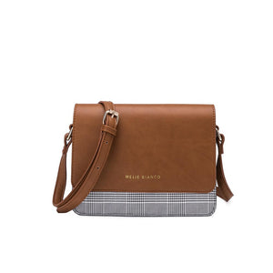 The Desi Crossbody Handbag | Saddle Tan
