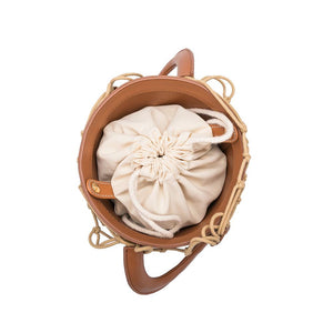 The Abby Bucket Bag | Camel