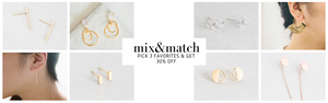 Mix & Match Everyday Earrings