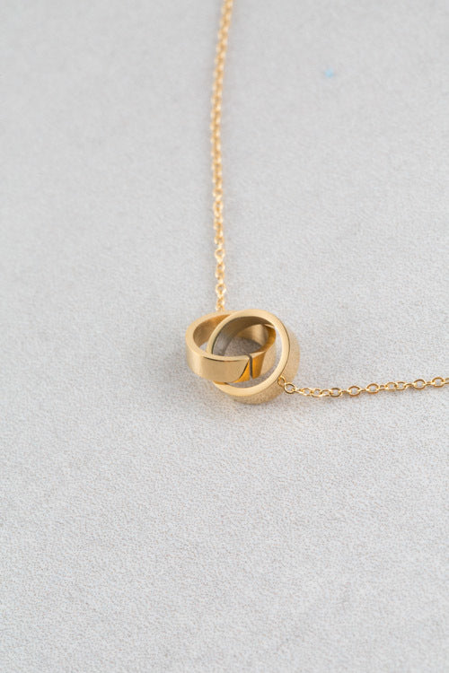 Linked Necklace | Gold (14K)