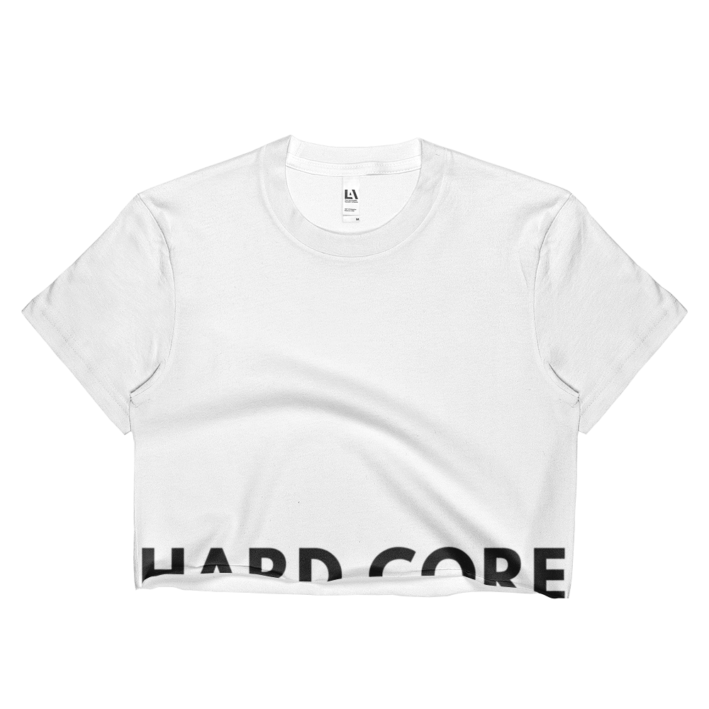 Hard Core Ladies Crop Top