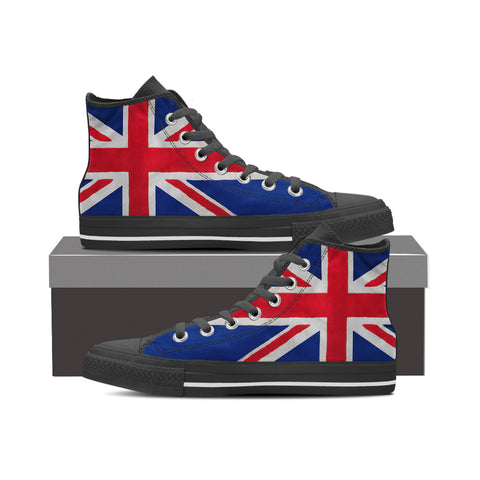 British Flag - Ladies (Black)