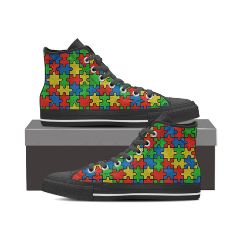 Autism Awareness Month Mens (Black)