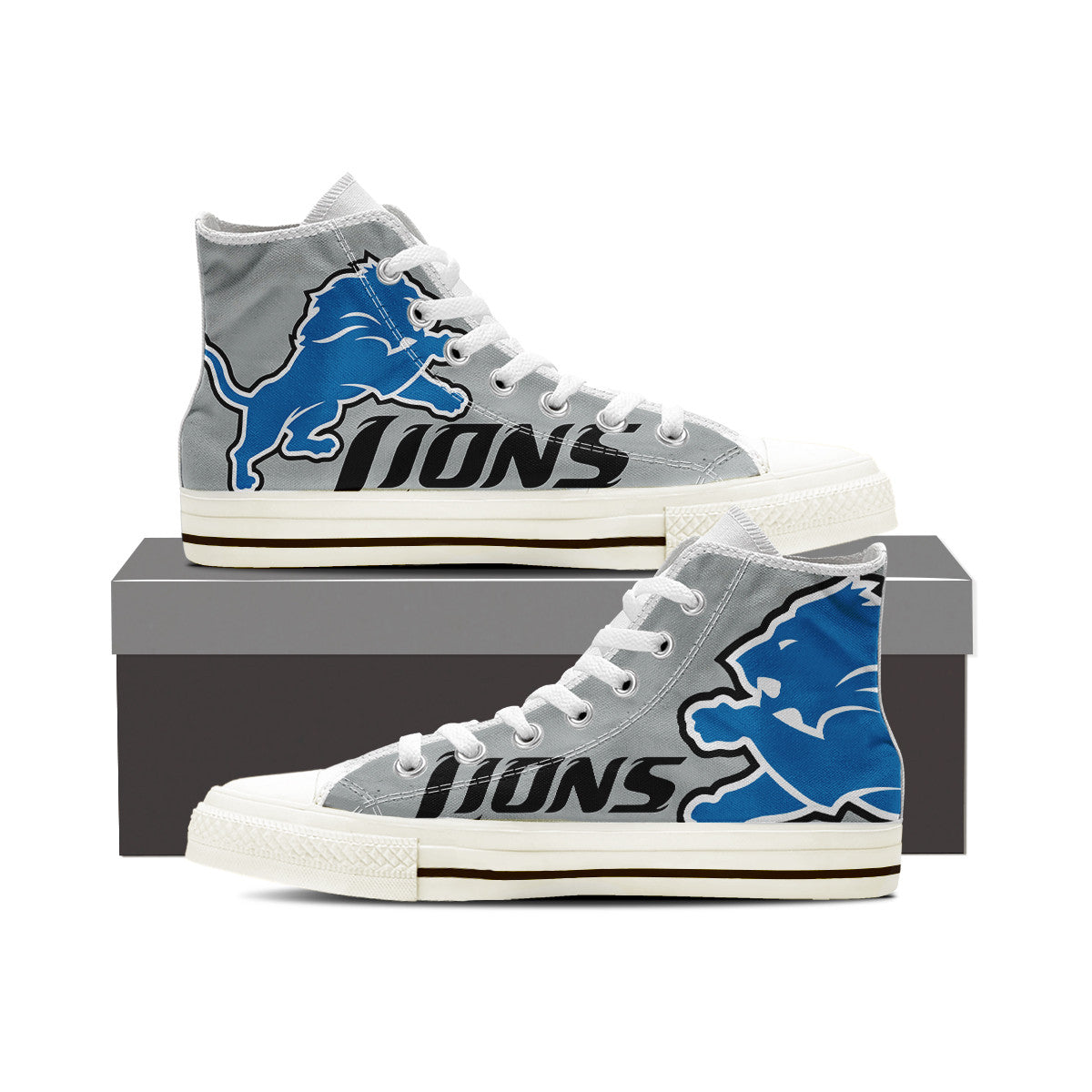 Detroit Lions - Mens (White)