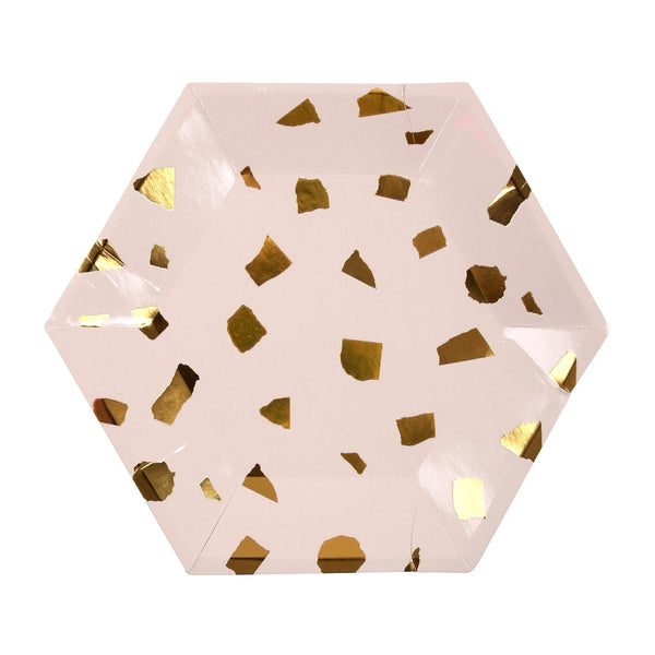 Pink Terrazzo small plates - Solsken