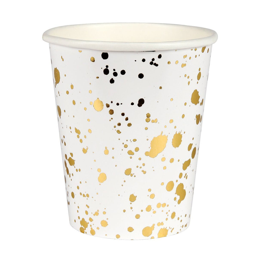 Gold Splatter Cups - Solsken
