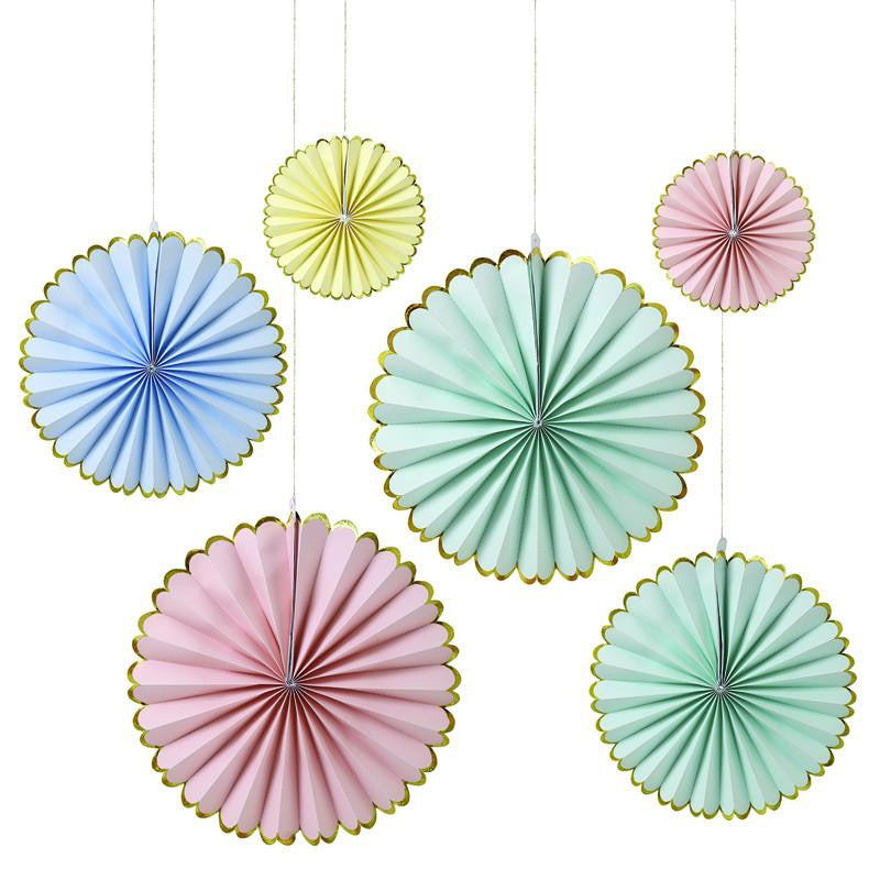 Pastel Pinwheel Decorations - Solsken