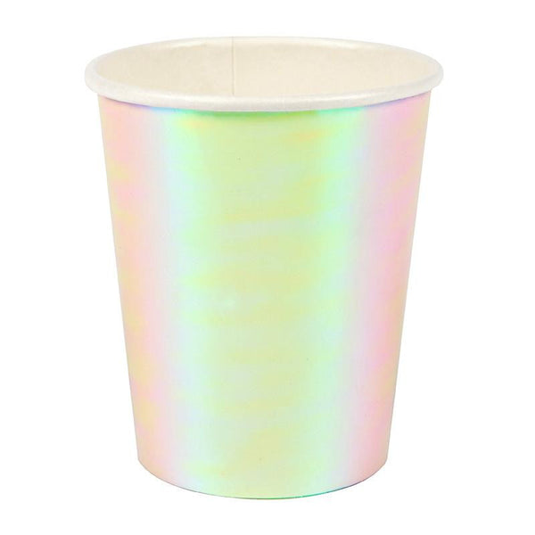 Iridescent party cups - Solsken