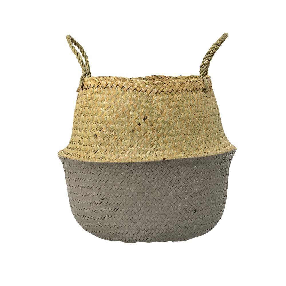 Natural basket - Grey - Solsken