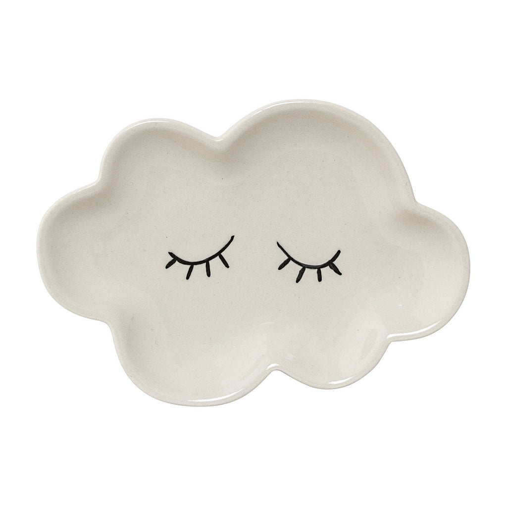 Cloud small plate - White - Solsken
