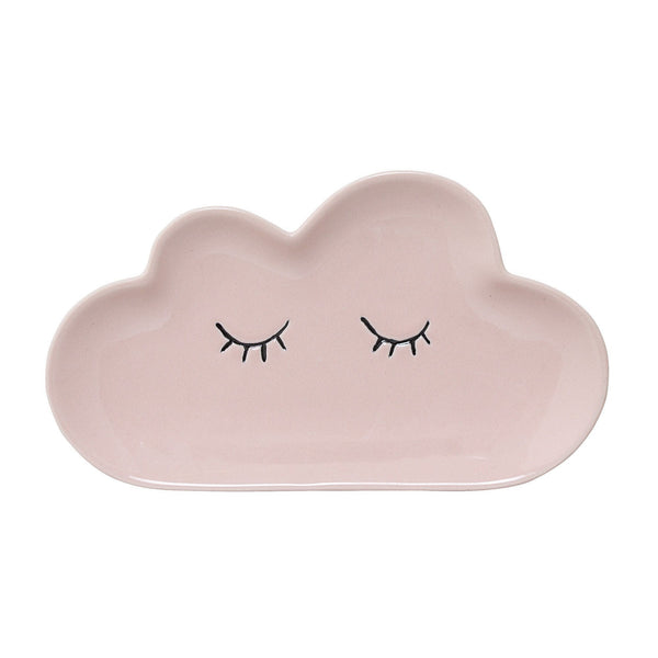 Cloud medium plate - Pink - Solsken