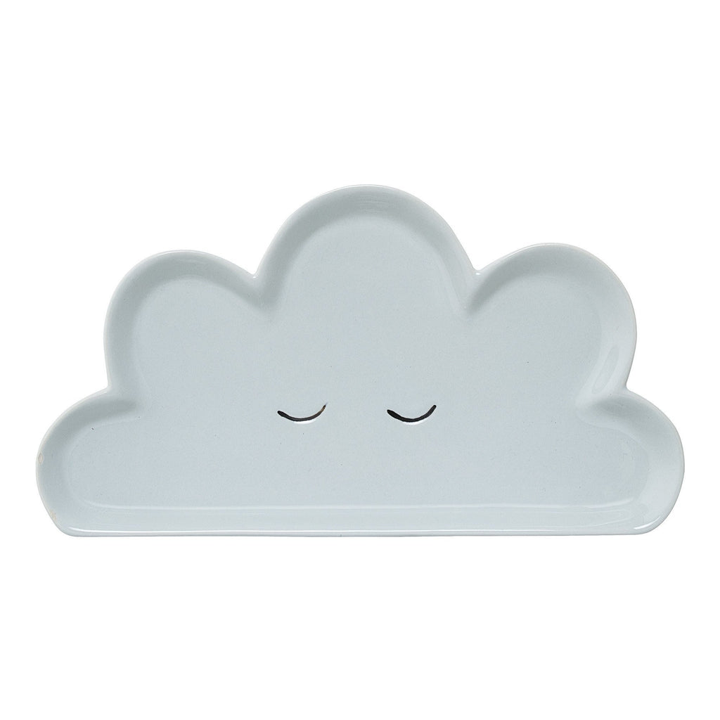 Cloud large plate - Blue - Solsken