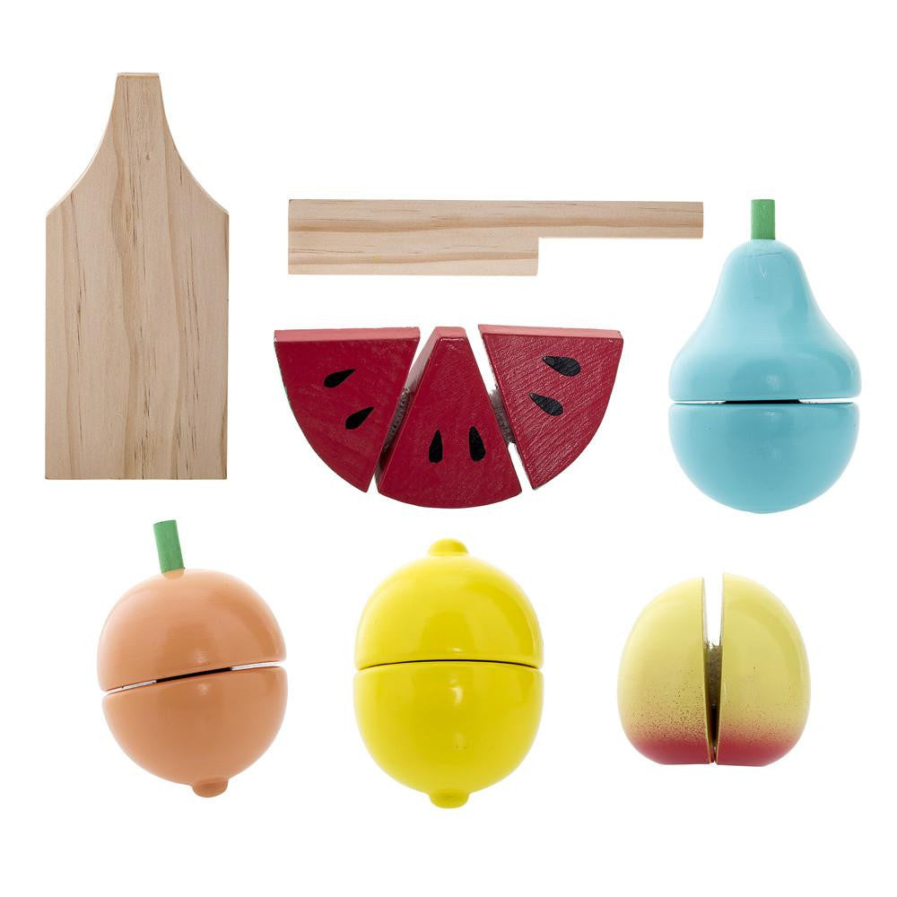 Wooden Fruits Playset - Solsken