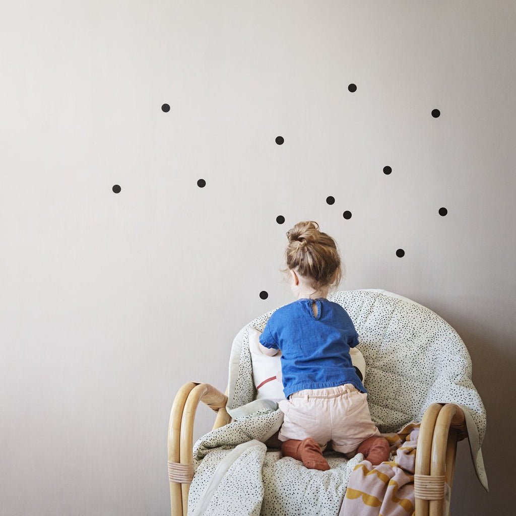 Mini Dots Wallsticker - Solsken