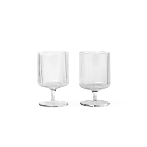 Ripple Wine Glasses - set of 2 - Solsken