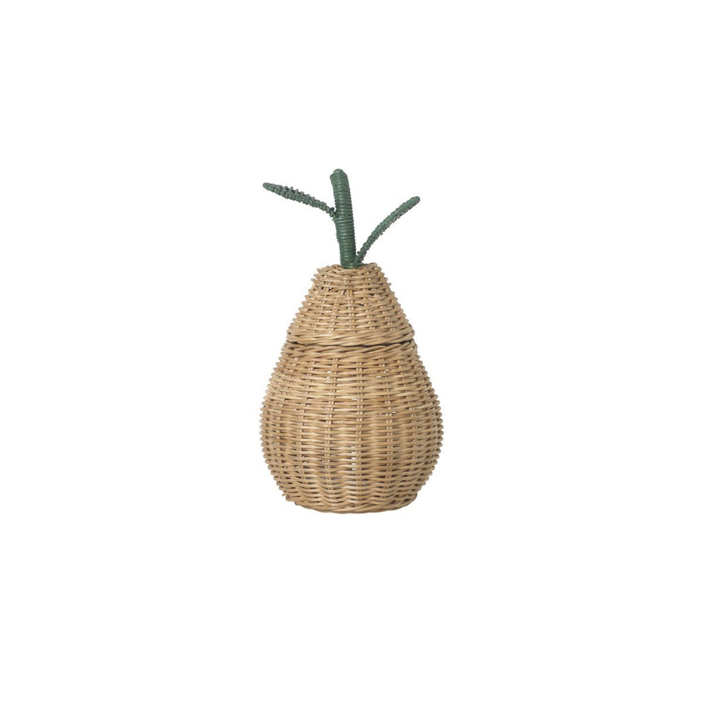 Small Pear Braided Storage basket - Solsken