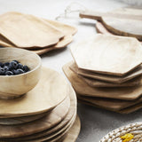 Wooden plates - set of 2 - Solsken