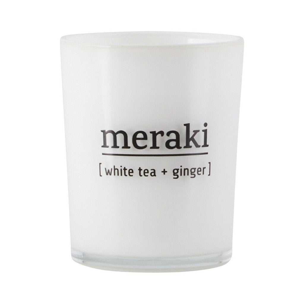 Scented Candle - White tea and Ginger - Solsken