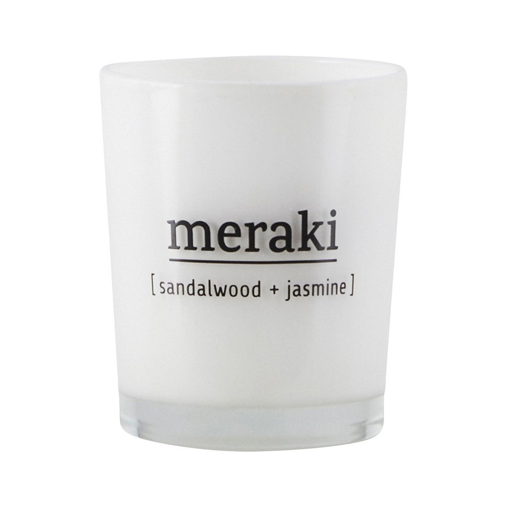 Scented Candle - Sandalwood and Jasmine - Solsken