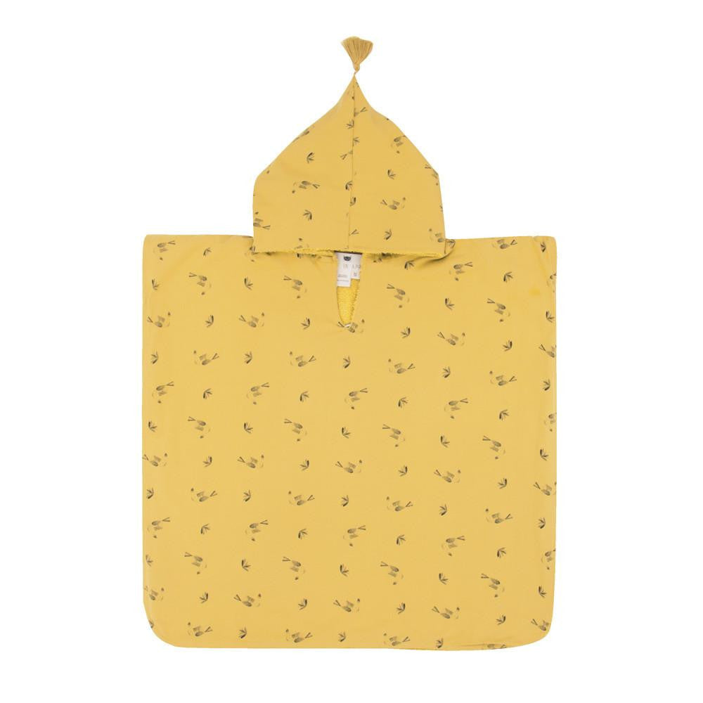 Bath Poncho Pepito with toucan print - Solsken