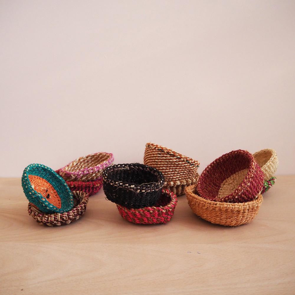 Mini Sisal Basket - Solsken