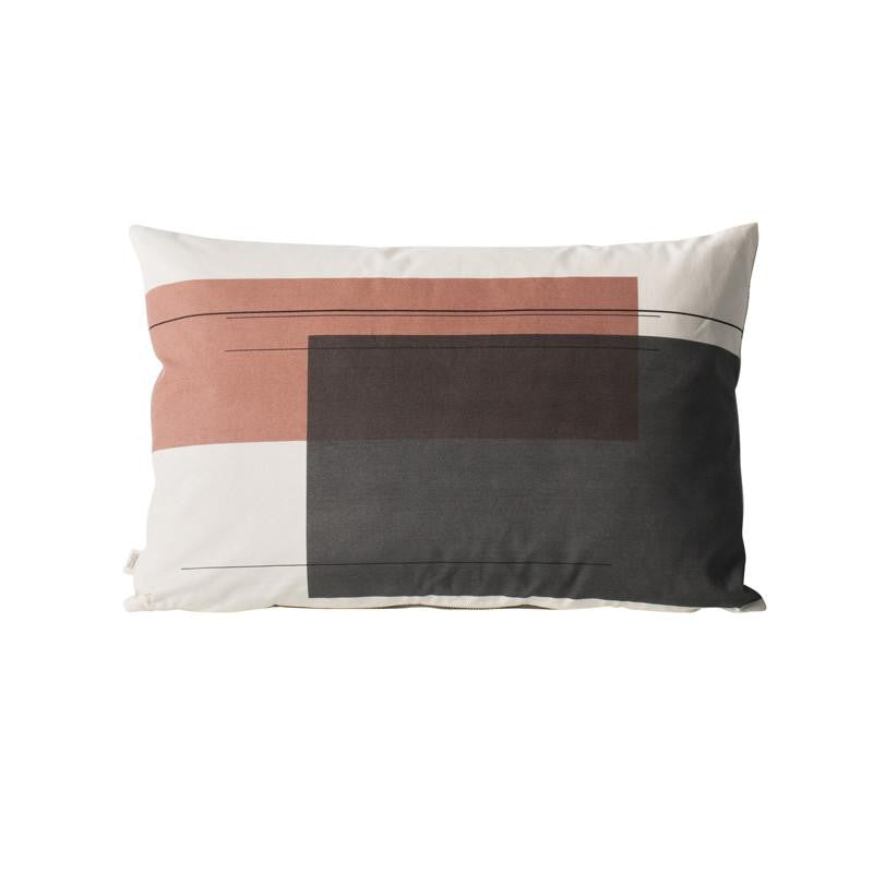 Colour Block Cushion - Large - Solsken