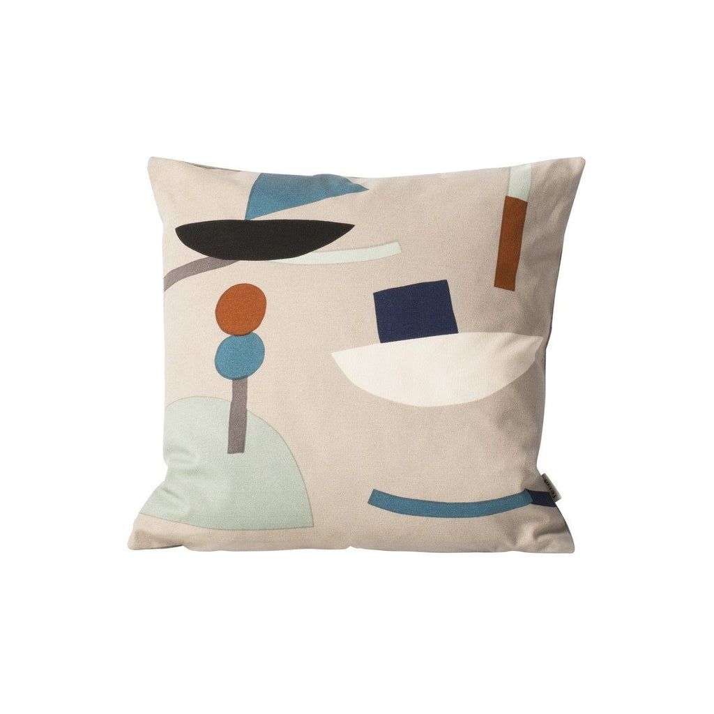 Seaside Cushion - Grey - Solsken