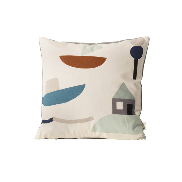 Seaside Cushion - Off-White - Solsken