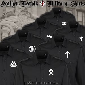Heathen / Neofolk Military Shirts