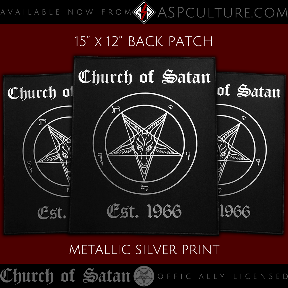 Official Sigil of Baphomet Back Patch for Jackets and more!