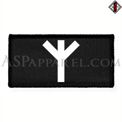 Algiz Rune Rectangular Patch