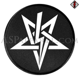 Anton LaVey Sigil Circular Patch-satanic-clothing-heathen-merchandise-by-ASP Culture