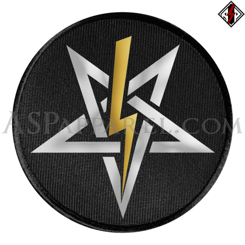 Anton LaVey Sigil Deluxe Circular Patch-satanic-clothing-heathen-merchandise-by-ASP Culture