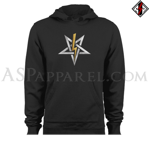Anton LaVey Sigil Deluxe Hooded Sweatshirt (Hoodie)-satanic-clothing-heathen-merchandise-by-ASP Culture