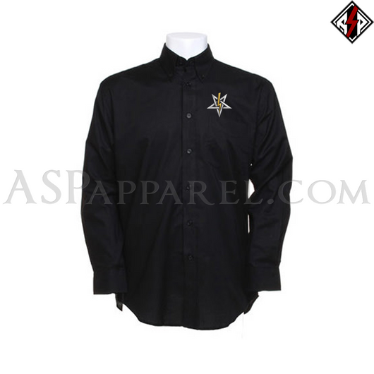 Anton LaVey Sigil Deluxe Long Sleeved Shirt