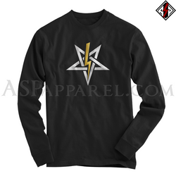 Anton LaVey Sigil Deluxe Long Sleeved T-Shirt