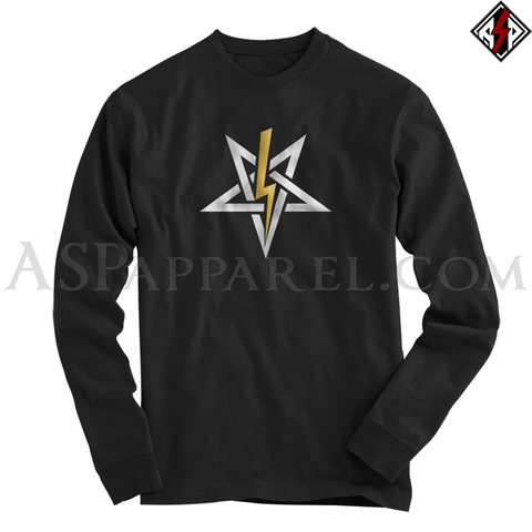 Anton LaVey Sigil Deluxe Long Sleeved T-Shirt-satanic-clothing-heathen-merchandise-by-ASP Culture
