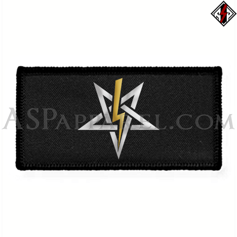 Anton LaVey Sigil Deluxe Rectangular Patch-satanic-clothing-heathen-merchandise-by-ASP Culture