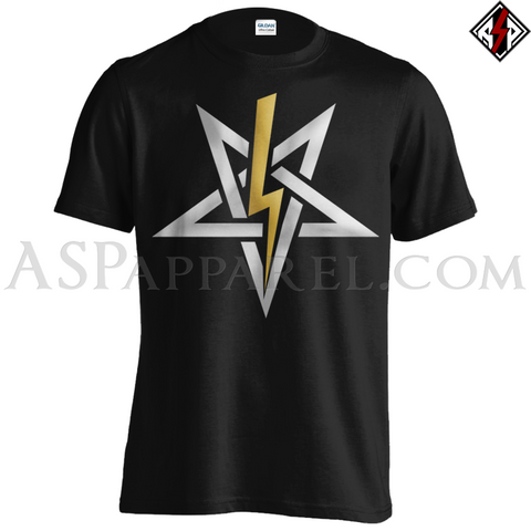 Anton LaVey Sigil Deluxe T-Shirt - Large Print-satanic-clothing-heathen-merchandise-by-ASP Culture