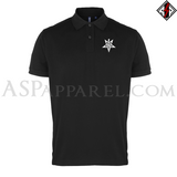 Anton LaVey Sigil Polo Shirt-satanic-clothing-heathen-merchandise-by-ASP Culture