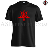 Anton LaVey Sigil T-Shirt-satanic-clothing-heathen-merchandise-by-ASP Culture