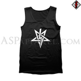 Anton LaVey Sigil Tank Top-satanic-clothing-heathen-merchandise-by-ASP Culture