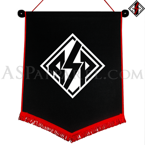 ASP Lozenge Chevron Pennant-satanic-clothing-heathen-merchandise-by-ASP Culture
