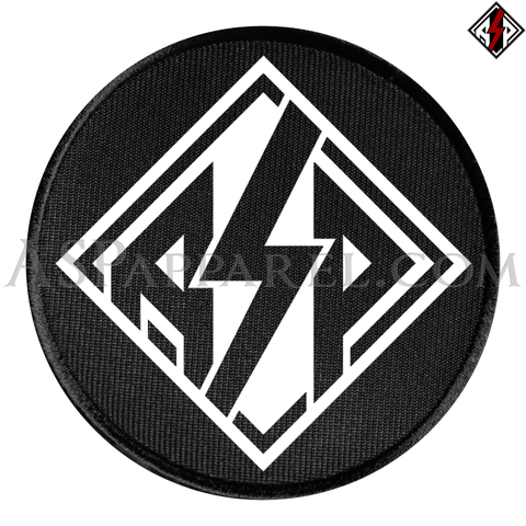 ASP Lozenge Circular Patch-satanic-clothing-heathen-merchandise-by-ASP Culture