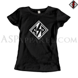 ASP Lozenge Ladies' T-Shirt-satanic-clothing-heathen-merchandise-by-ASP Culture