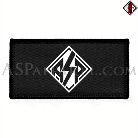 ASP Lozenge Rectangular Patch-satanic-clothing-heathen-merchandise-by-ASP Culture
