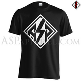 ASP Lozenge T-Shirt - Large Print-satanic-clothing-heathen-merchandise-by-ASP Culture