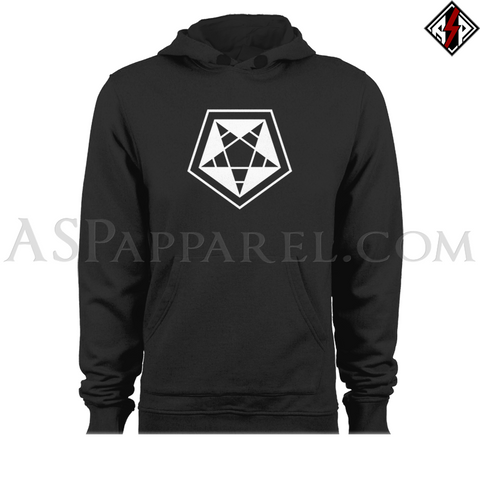 ASP Pentagram Sigil Hooded Sweatshirt (Hoodie)-satanic-clothing-heathen-merchandise-by-ASP Culture