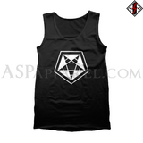 ASP Pentagram Sigil Tank Top-satanic-clothing-heathen-merchandise-by-ASP Culture