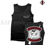 Book and Rifle Club Deluxe Tank Top
